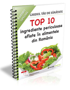 TOP 10 ingrediente periculoase aflate in alimentele din Romania